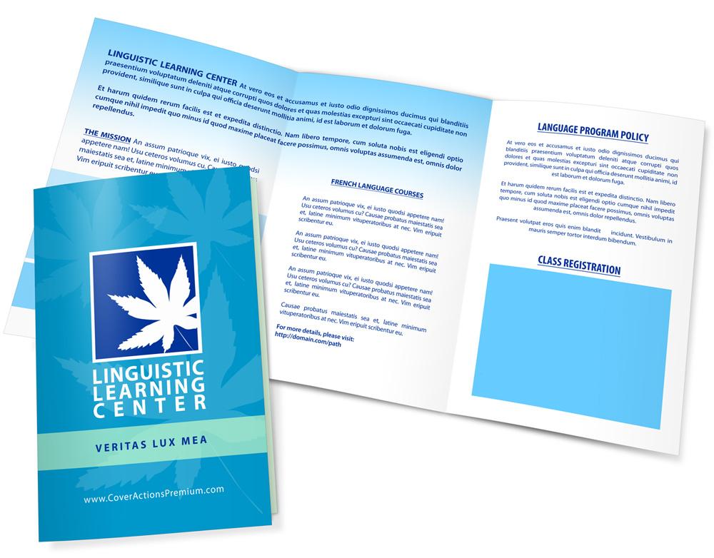 5 fold brochure