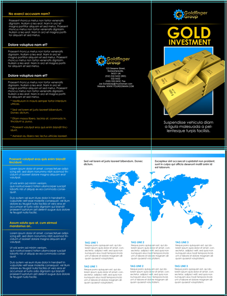 17 x 11 Tri Fold Brochure Action Script