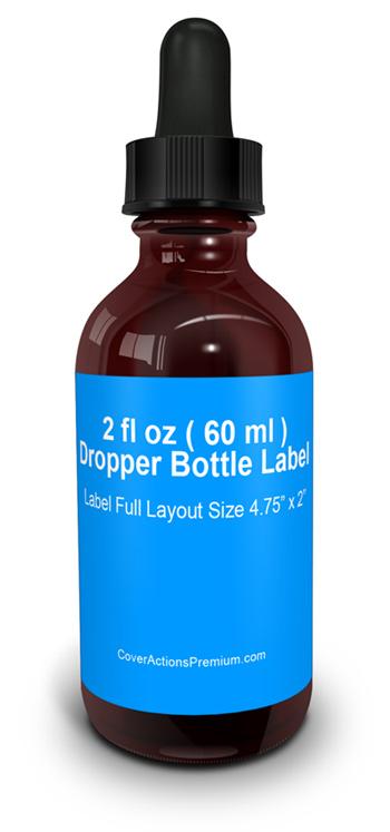 Dropper Bottle Mock Up Cover Actions Premium Mockup