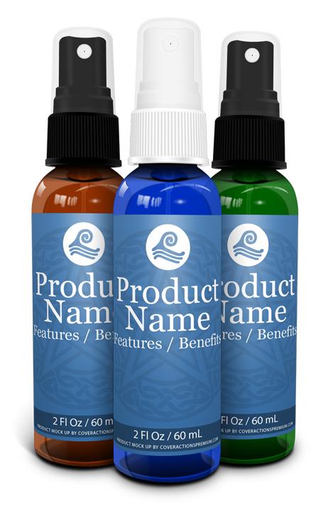 spray bottle label template bing images. Black Bedroom Furniture Sets. Home Design Ideas