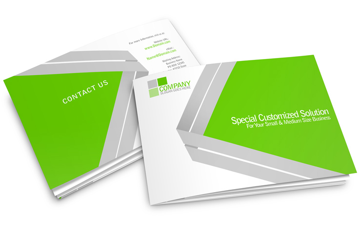 8 Page A5 Horizontal Brochure Mockup | Cover Actions Premium ...