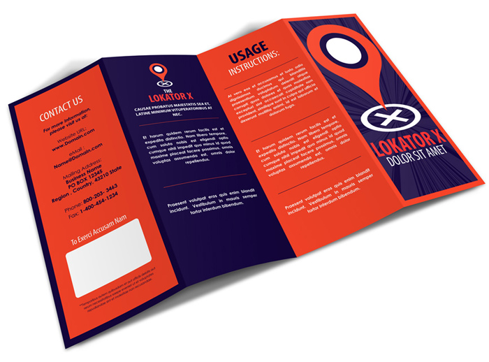 4 panel accordion fold brochure mockup cover actions for 8 5 x 14 brochure template