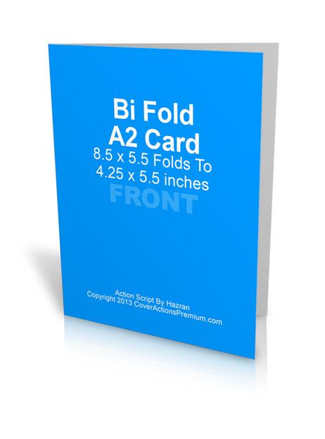 A2 Bi Fold Card Action Script