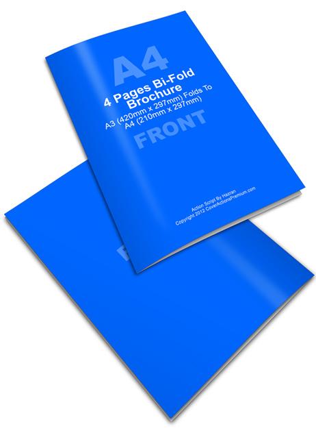 A3 Bifold Brochure Action Script