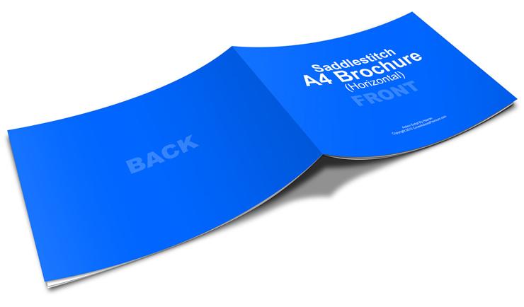 Horizontal A4 Brochure Action Script