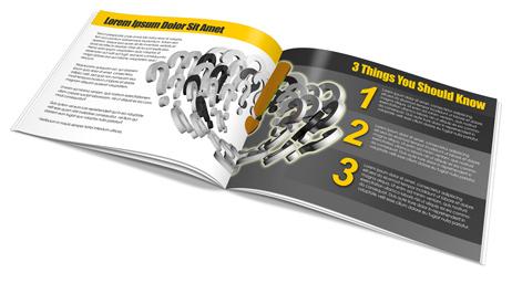 Horizontal A4 Booklet Action Script