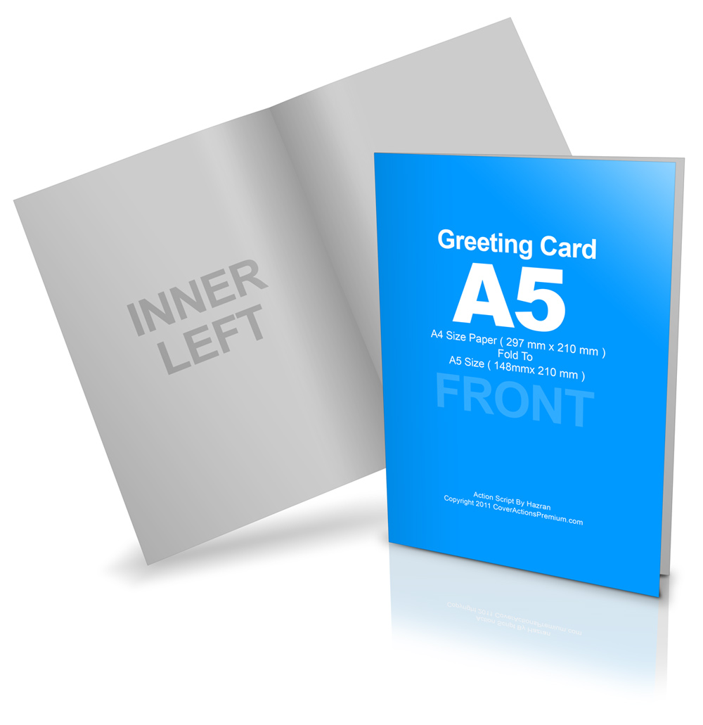 Bi fold a5 greeting card mockup cover actions premium mockup psd a5 greeting card mockups click here to enlarge kristyandbryce Image collections