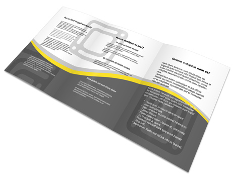 A5 Tri Fold Brochure Action Script