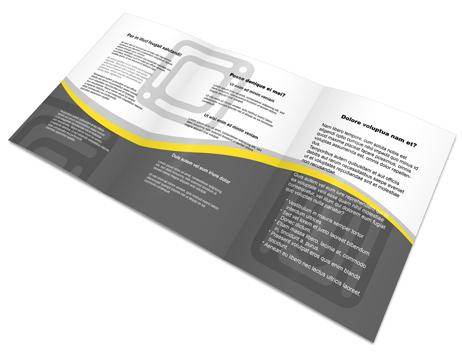 A5 Tri Fold Brochure Template