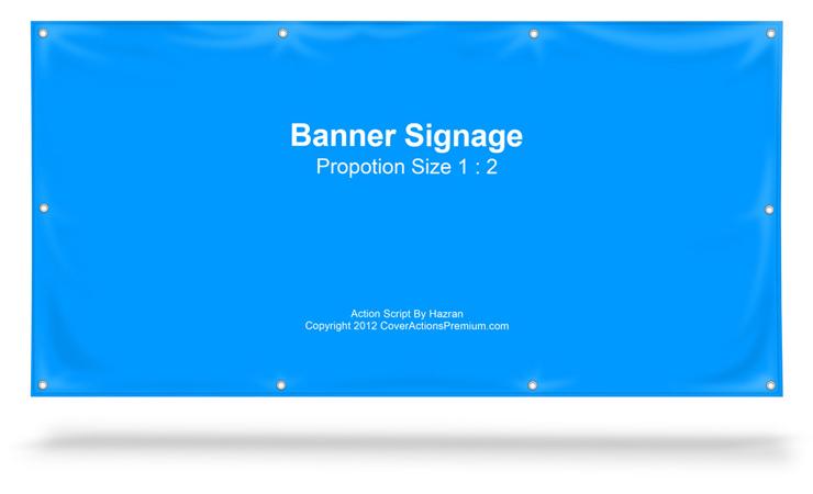banner sign stand mockup 1 2