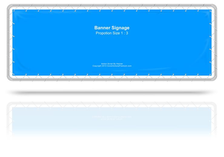 Banner Sign Action Script