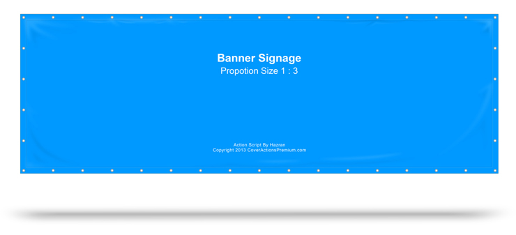 Banner Sign Action Script