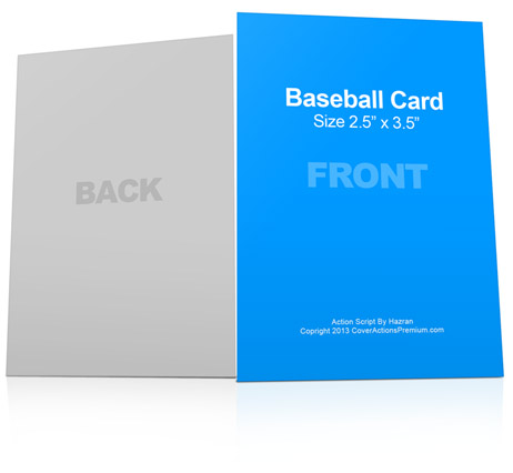 Baseball Card Action Script