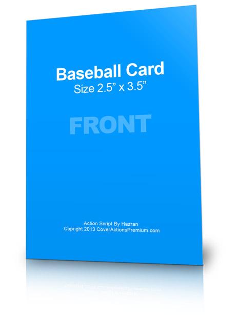 Baseball Card Action Script