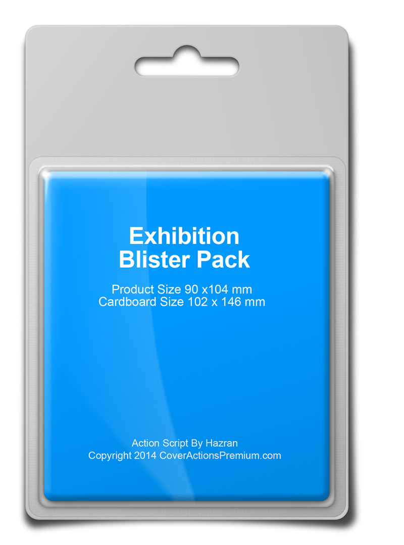 Blister Pack Mock Up Action Script Cover Actions Premium