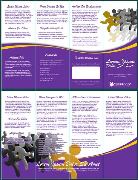 Double Parallel Brochure Template