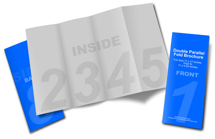 Double Parallel Brochure Action Script