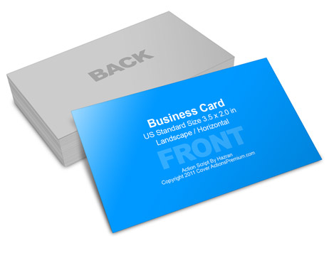 Business card mockup 35 x 2 cover actions premium mockup psd business card action script reheart Images