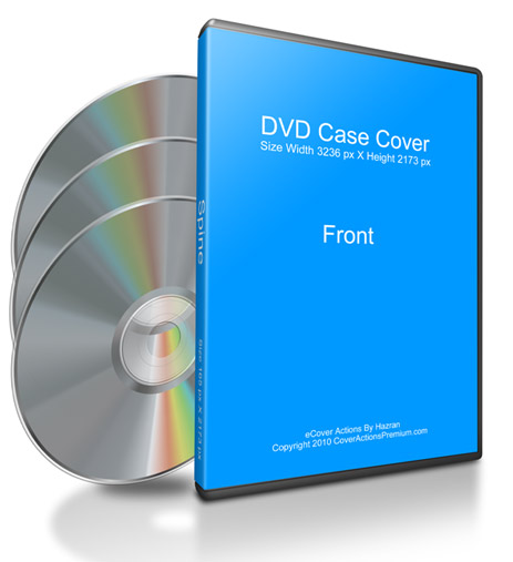 DVD Label Mock Up Set ( With Blank CD)   Cover Actions Premium ...