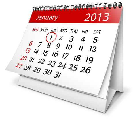 Desktop Calendar Action Script