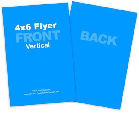 vertical 4 6 flyer action script trio cover actions premium