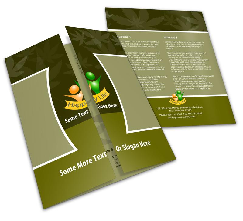 11 17 single open gate fold brochure mock ups cover actions
