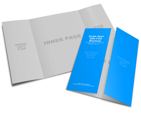Single Fold Brochure Template Militaryalicious