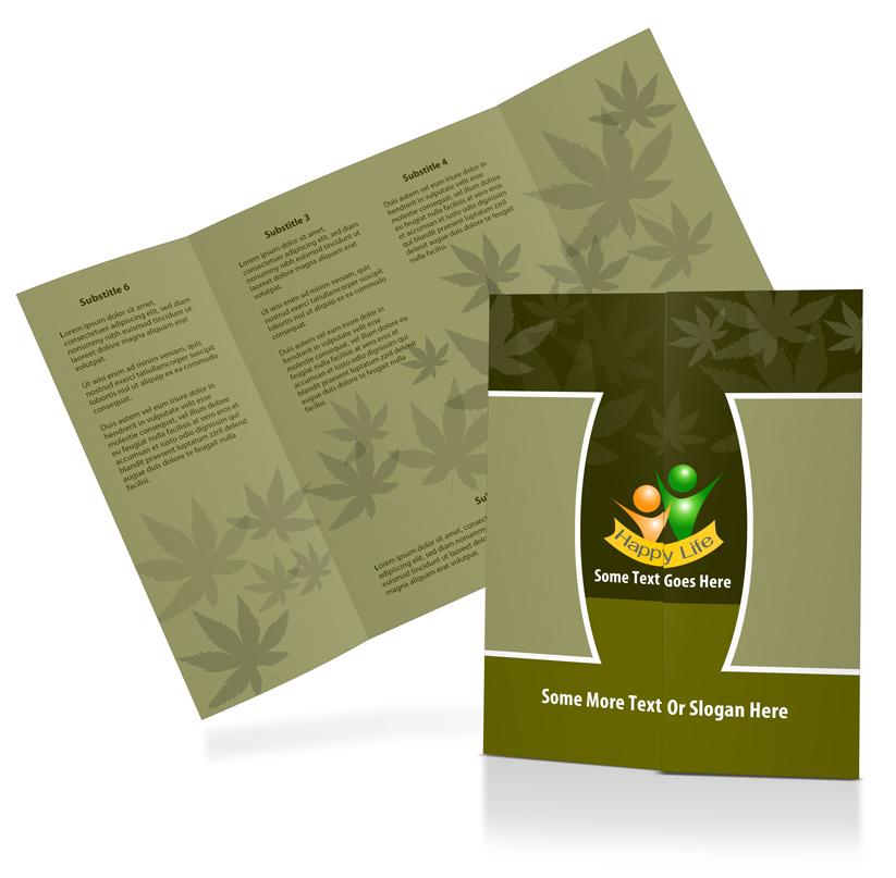 11x17 Gate Fold Brochure Mockup   Cover Actions Premium   Mockup PSD ...