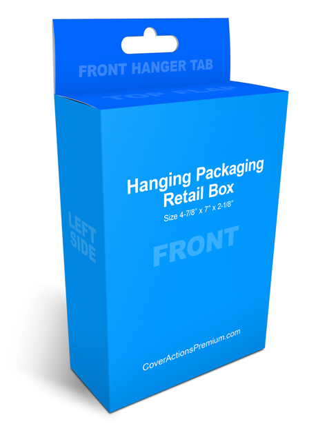 Hanging Packaging Box Mockup 100 Free Download Cover