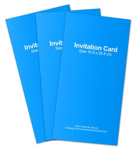 Invitation Card Action Script