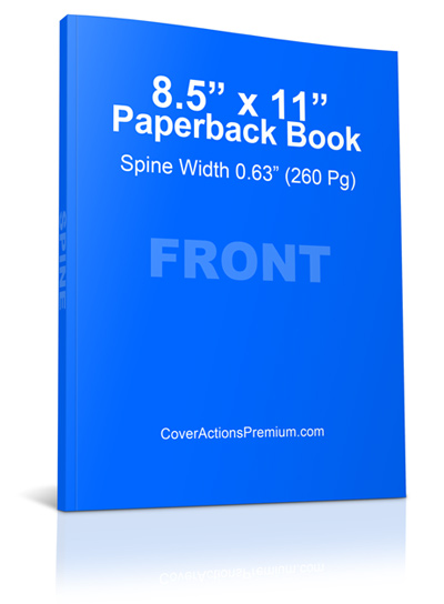 8 5 X 11 Paperback Book Cover Actions 230 Pages Cover