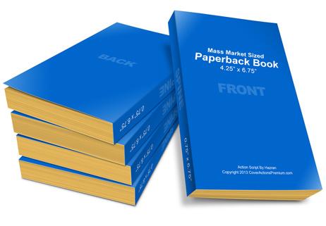 Mass Market Paperback Book Mock Up