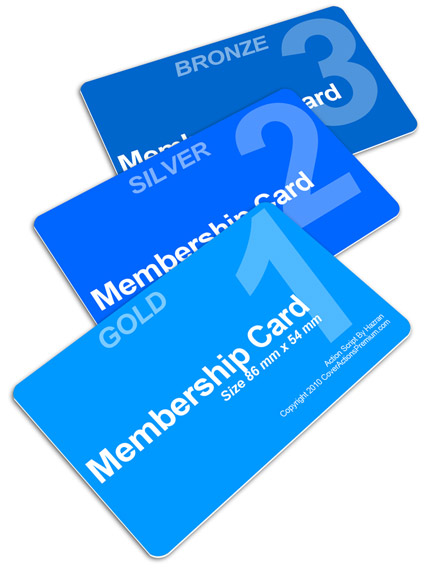 Membership Cards Action Script Pt2 – Membership Cards Template