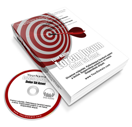 paperback ebook and CD combo ecover actions