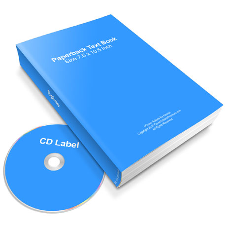 paperback book and CD combo ecover actions