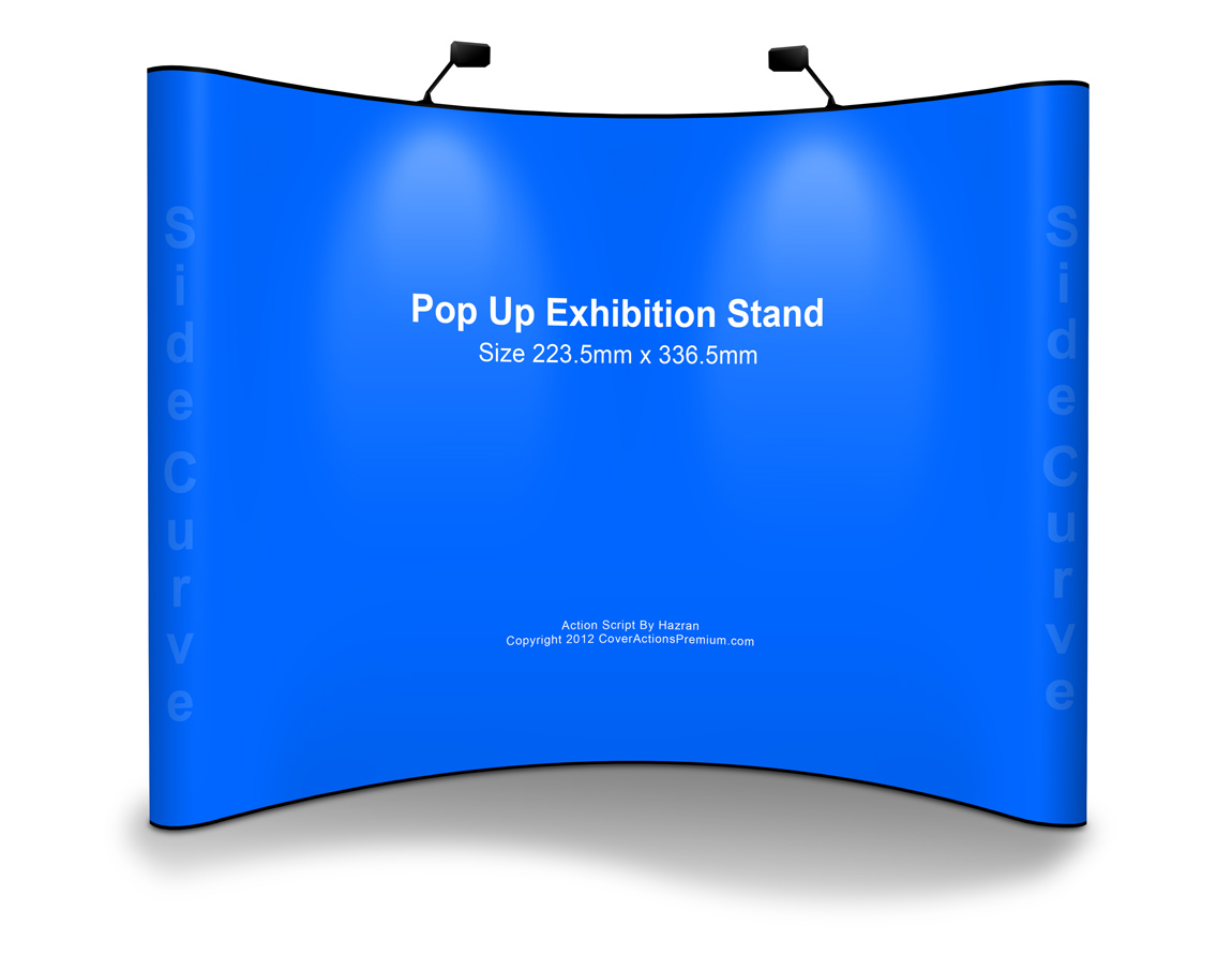 Free Pop Up Exhibition Stand Mockup : Pop up exhibition stand mockup cover actions premium