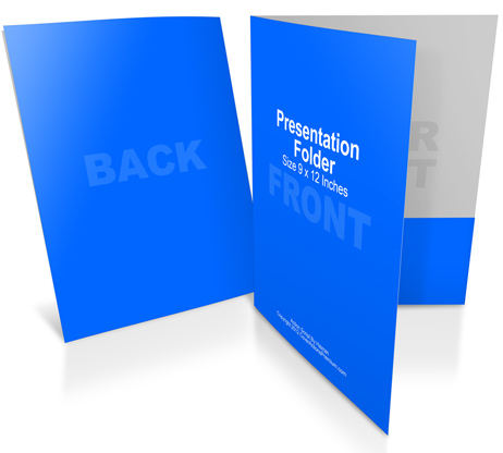 presentation folder mockup action | cover actions premium | mockup, Presentation templates