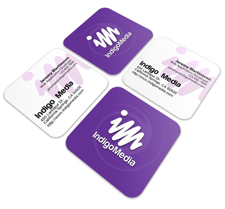 Rounded Edge Business Cards Business Card Website Printable