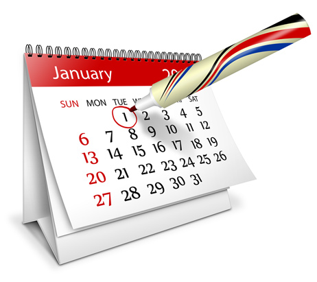 Save the date Desktop Calendar Action Script