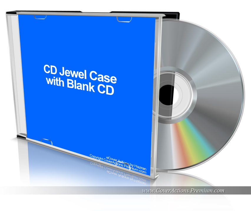 Blank CD   Cover Actions Premium