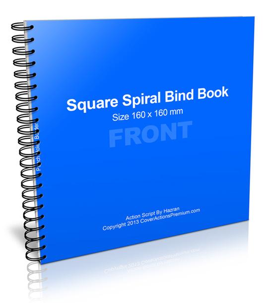 Square Spiral Book Action Script