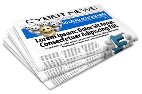 Newsletter Newspaper Mock Up Action Script