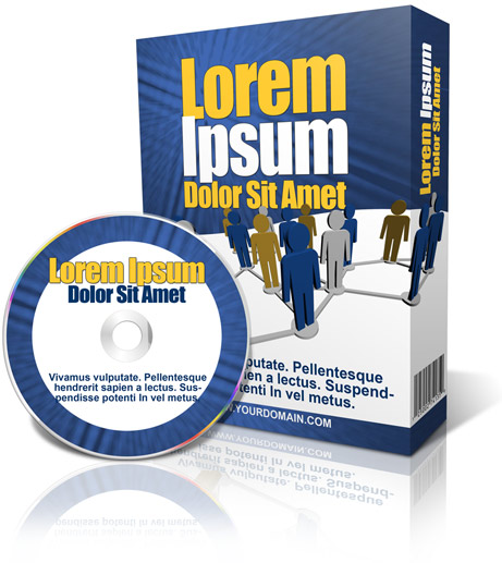 slim software box with CD / DVD ecover actions