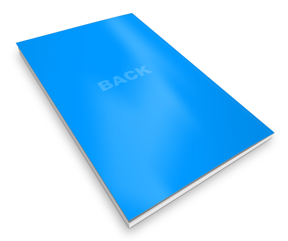 Paperback Book Cover Paper Weight : C format thin trade paperback book mock up actions cover