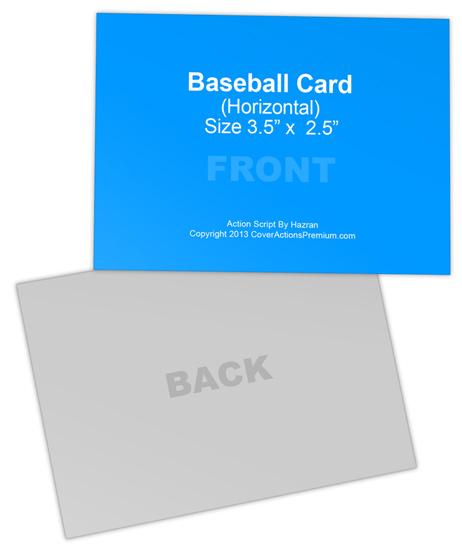Trading Card Mockup