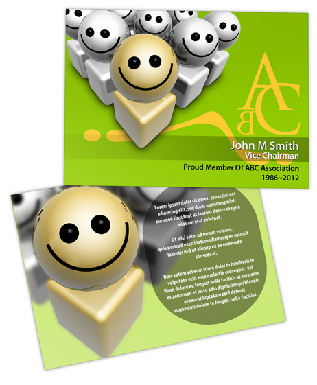 Trading Card PSD Template