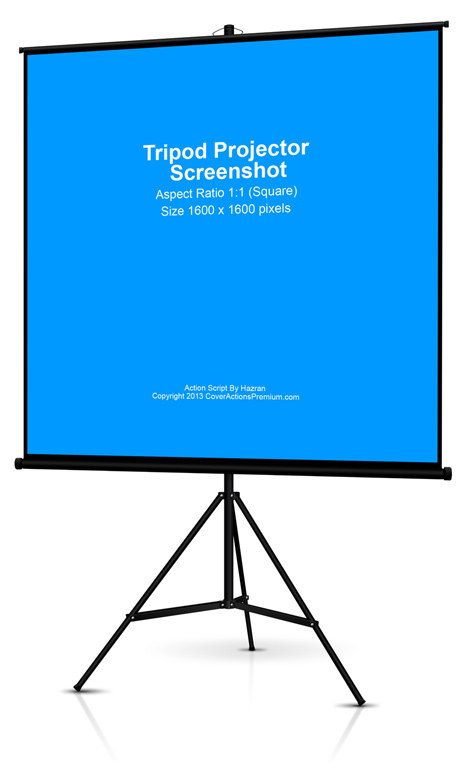 Tripod Projector Screen Action Script Cover Actions