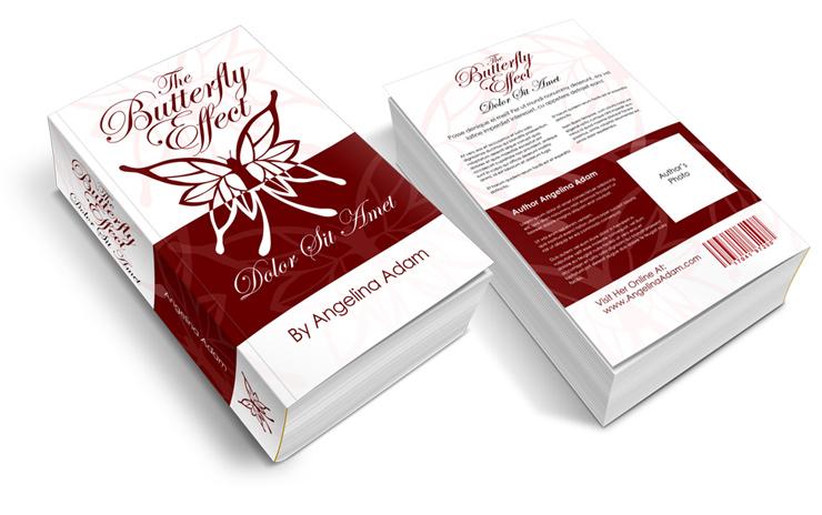 4.5 x 7.25 Venti Mass Market Paperback Book Mock Up