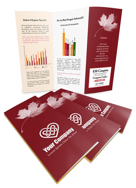 12 X 9 Z Fold Brochure Mockup Cover Actions Premium Mockup Psd