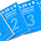 4 Book Set Mock Up Photoshop Actions